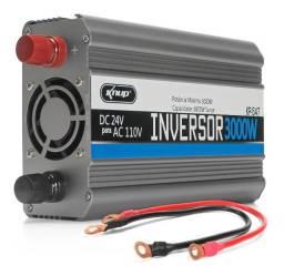Inversor Tensão 24v 110v 3000w Transformador Kp547 Conversor