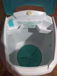 Lavadora de Roupas Suggar 10 Kg Lavamax Semiautomática - Branco/Verde (Para retirar peças)