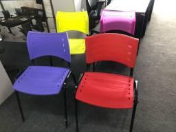 Cadeiras fixa na promoção