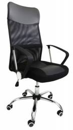 Cadeira Presidente em Tela Nova com Garantia Entrega Grátis