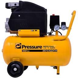 Compressor motocompressor 24 Litros 8,2 Pés Pressure - 220V (NOVO)