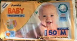 Título do anúncio: Fralda Baby Premium Sec 50 unidades