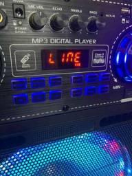 SUPER Caixa de Som Amplificada 5000W