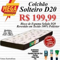 Título do anúncio: COLCHÃO SOLTEIRO E CASAL