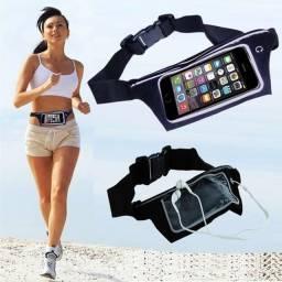 Título do anúncio: Pochete cinto porta celular fitness Corrida até 5.5 Pol Impermeável
