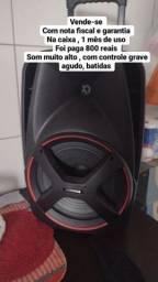 Título do anúncio: Caixa de som mondial