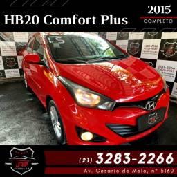 Título do anúncio: Hyundai HB20 Comfort Plus 2015 Completo