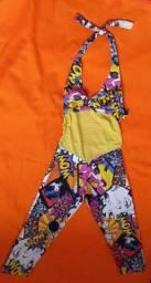 Título do anúncio: Macacão colorido