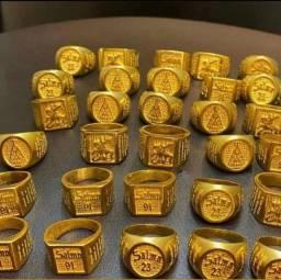 Aneis moeda antiga vários modelos