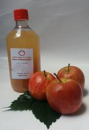 Vinagre de Maçã Artesanal 100% Natural