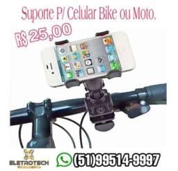 Suportes de Celular P/ moto a partir de 25,00