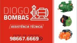 CONSERTO EM GERAL DE BOMBA DE ÁGUA E MOTOR ELÉTRICO