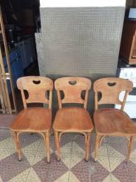 6 cadeiras Madeira