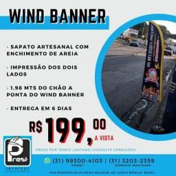Wind banner preço promocional