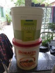 Vendas de balde de manteiga