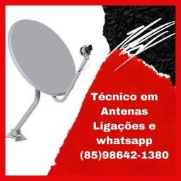 Título do anúncio: Antena- apontamento-Instalação de antenas- venda de receptores