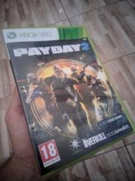 Pay Day Xbox 360 preço negociável