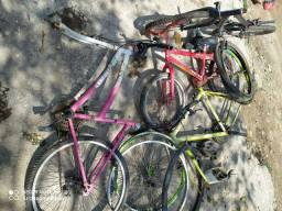 Vendo partes de bicicleta tudo junto