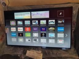 Título do anúncio: Tv 40 polegadas smart wi-fi Panasonic perfeita ainda nos plásticos!!!!