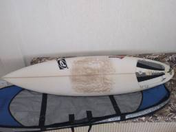 Prancha de surf pro ilha.