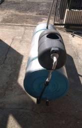 Título do anúncio: Vendo 500 reais Reservatório Térmico Bollier DE INOX instalar FOGÃO ou placas solar
