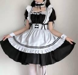 Título do anúncio: Vestido maid! (Nunca usado)