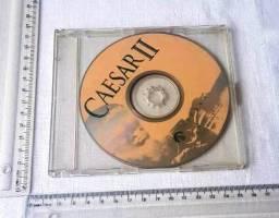 Raridade - Jogo Antigo de PC - Original - Caesar II - 1995 - Mídia Física - Usado
