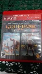 God of war collection (1 e2) PS3 vendo troco