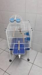Título do anúncio: Viveiro gaiola baby Bragança semi novo ( LER TEXTO )