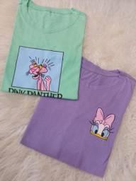 Blusas e T-shirt
