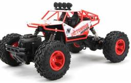Carrinho 4x4 Rock Controle Remoto 4ch Buggy Truck Off Road jeep monster brinquedo