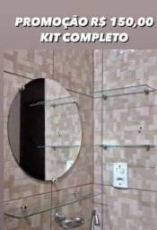 Título do anúncio: Kit espelho completo 150.00 reais. Zap 085. *