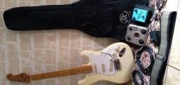 Título do anúncio: Kit guitarra SX vintage series sst57