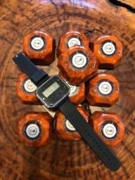 Título do anúncio: 1 relógio chama garçom e 10 campainhas