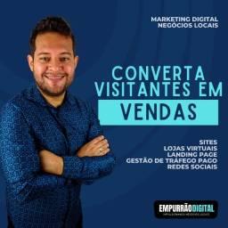 Título do anúncio: Converta visitantes em Vendas - Sites, Lojas Virtuais, Gestor de Tráfego Pago