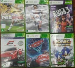 Título do anúncio: Jogos Usados Originais Xbox 360 Mídias Físicas