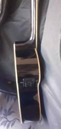 Violão elétrico novo