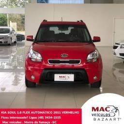 Kia soul automático 1.6 2011 com 85 mil km !!