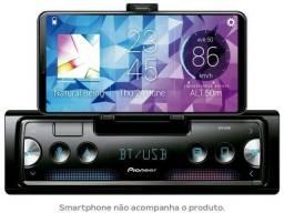 Som Automotivo Pioneer MP3 AM/FM Bluetooth - USB SPH-C10BT<br><br>