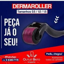 Dermaroller Original - tamanhos 0.5 - 1.0 - 1.5 - 2.0 - promoção