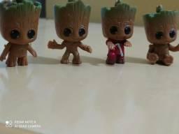Kit 4 Pcs  Baby Groot