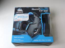 HEADSET GAMER PC/ONE/PS4.
