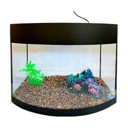 Título do anúncio: Aquario com filtro hang on 650lh