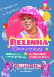 Título do anúncio: Animação de festa infantil recreação com Belinha