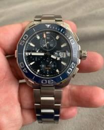 Tag Heuer Aquaracer Mens Chronograph Relógio Automático