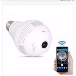 Câmera de segurança IP infra vermelho 360°