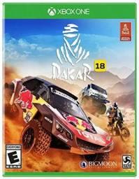 Dakar 18 X box one semi novo.