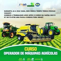 Seja um operador de máquinas agricolas!