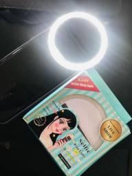 ?Vende-se Mini Selfie Ring Light