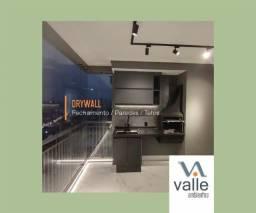 Título do anúncio: Gesso Acartonado (Drywall) Paredes Divisórias, Rebaixamento de teto - Reforma, Pintura.